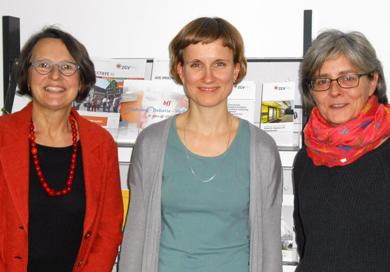 Anette Diehl, Katharina Göpner, Eva Jochmann (v.l.n.r.)