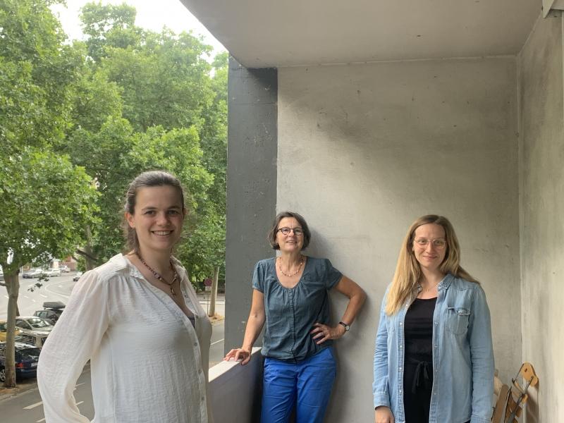 v.l.n.r. Marla Kuhn, Anette Diehl und Jana Schneiss