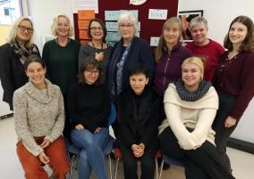 Teilnehmerinnen des Fachgesprächs